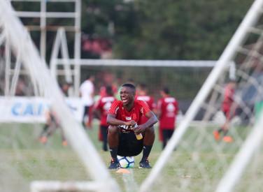 Treino do Flamengo - 01/06/2018
