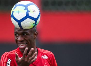 Treino do Flamengo - 05/06/2018