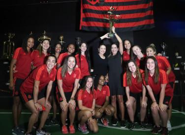 Vôlei Feminimo do Flamengo visita o FlaMemória - 20/07/2018