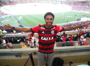 Vitinho chega ao Flamengo - 29/07/2018