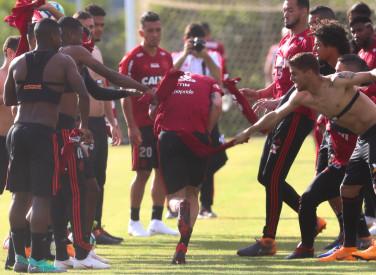 Treino do Flamengo - 03/08/2018