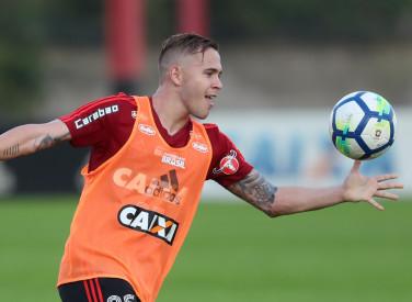 Treino do Flamengo - 09/08/2018