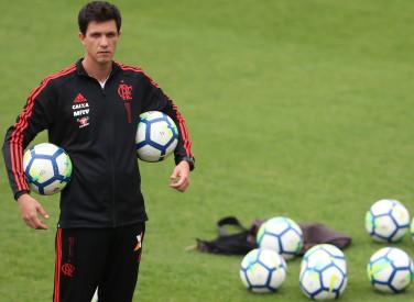 Treino do Flamengo - 16/08/2018
