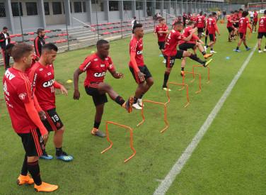 Treino do Flamengo - 17/08/2018
