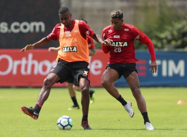 Treino do Flamengo - 21/08/2018