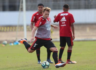 Treino do Flamengo - Sub 20 - 24/08/2018