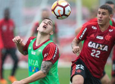 Treino do Flamengo - 27/08/2018