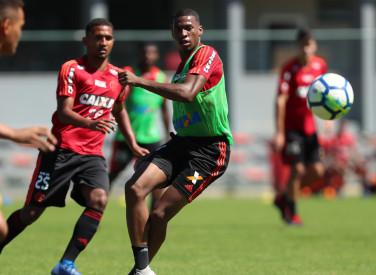 Treino do Flamengo - 31/08/2018