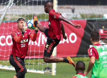 Treino do Flamengo - 09/09/2018