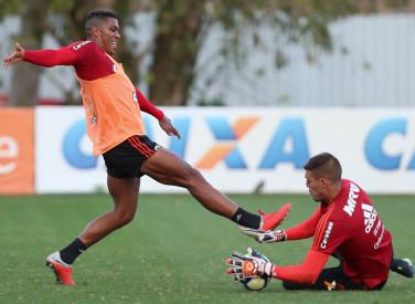 Treino do Flamengo - 10/09/2018