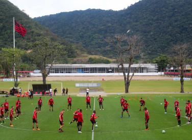 Treino do Flamengo - 11/09/2018