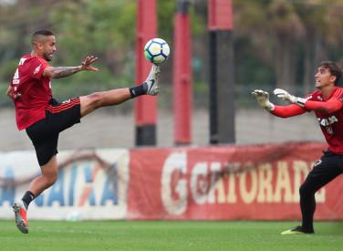 Treino do Flamengo - 13/09/2018