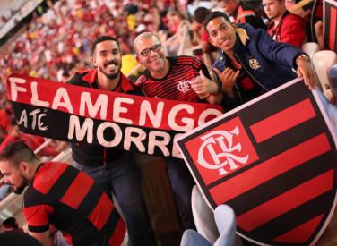 Flamengo x Corinthians - torcida - 12/08/2018