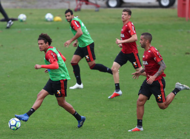 Treino do Flamengo - 17/09/2018