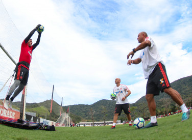 Treino do Flamengo - 18/09/2018