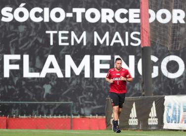 Treino do Flamengo - 24/09/2018