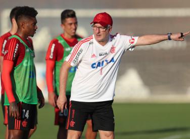 Treino do Flamengo - 02/10/2018