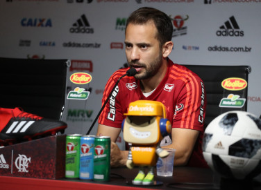Coletiva Everton Ribeiro - 02/10/2018
