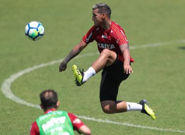 Treino do Flamengo - 03/10/2018
