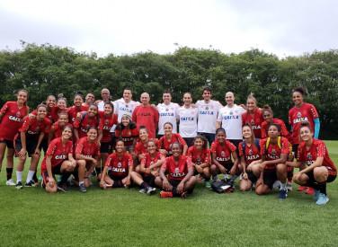 Treino do Flamengo/Marinha em São Paulo - 10/10/2018