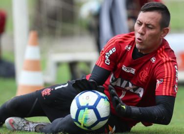 Treino do Flamengo - 16/10/2018