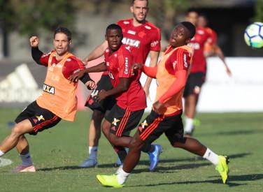 Treino do Flamengo - 23/10/2018