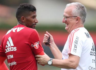 Treino do Flamengo - 24/10/2018