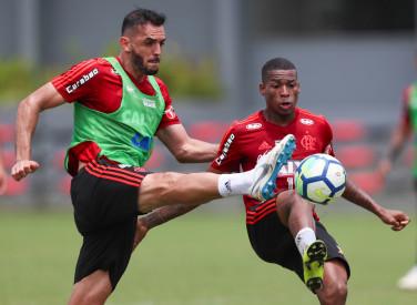 Treino do Flamengo - 30/10/2018