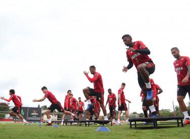 Treino do Flamengo - 02/11/2018