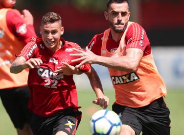 Treino do Flamengo - 12/11/2018
