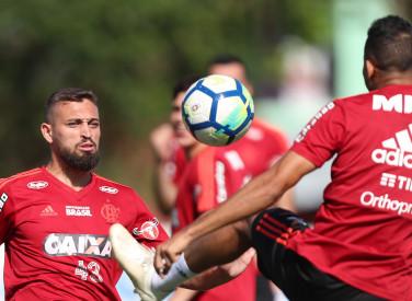 Treino do Flamengo - 13/11/2018