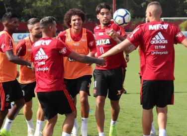 Treino do Flamengo - 23/11/2018