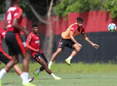 Treino do Flamengo - 29/11/2018