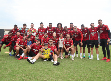 Treino do Flamengo - 30/11/2018
