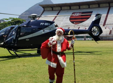 Chegada do Papai Noel na Gávea - 2018