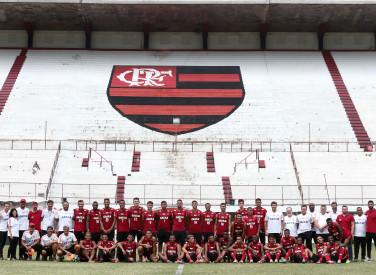 Treino do Flamengo - Sub-20 - 27/12/2018