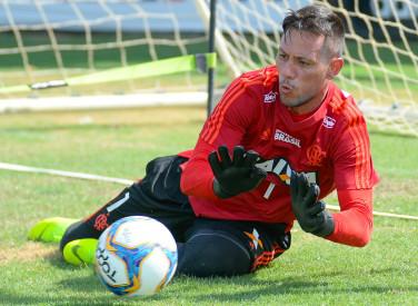 Treino do Flamengo - 04-01-2019