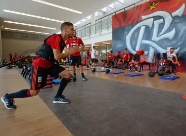 Treino do Flamengo - 05-01-2019