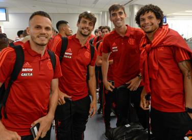 Flamengo chega aos EUA para Flórida Cup - 06-01-2019