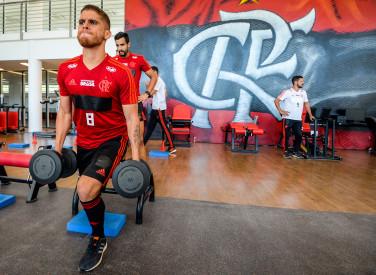 Treino Flamengo Manhã - 17-01-2019