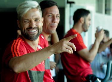 Treino Flamengo - 21-01-2019