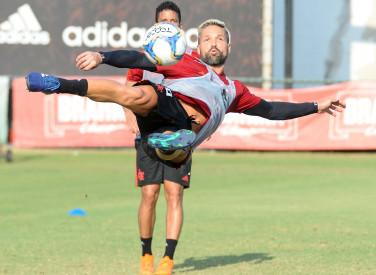 Treino Flamengo - 24-01-2019