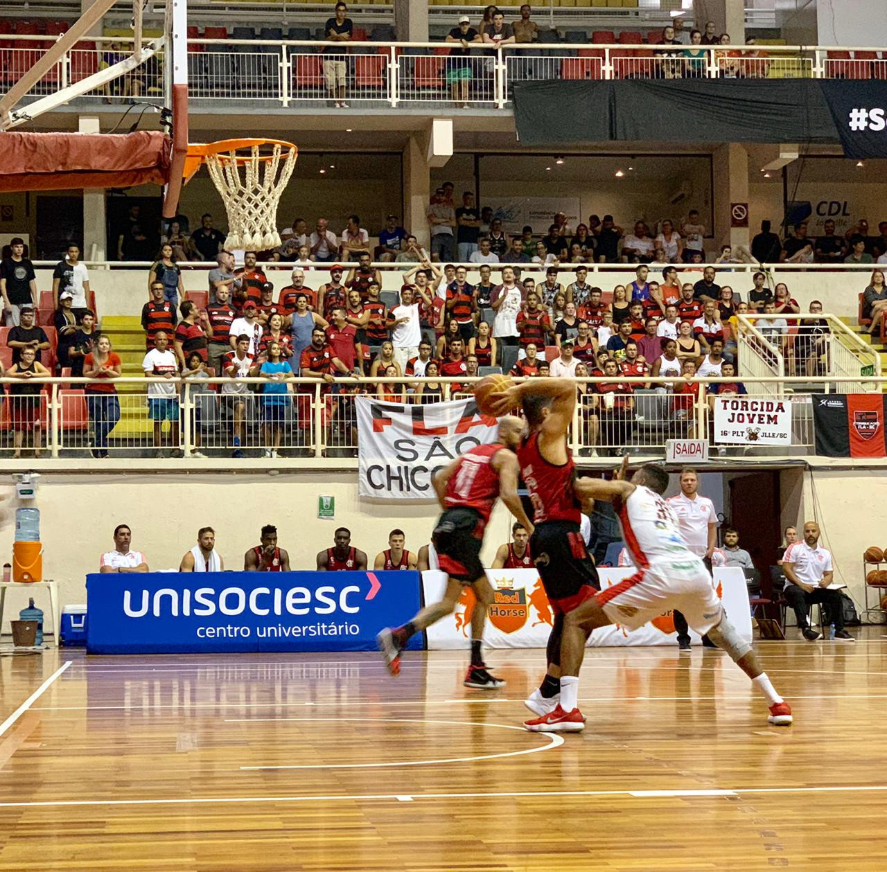 Joinville x Flamengo - NBB 11 - 24/01/2019