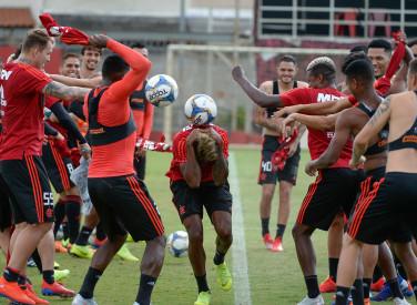 Treino CT Flamengo - 25-01-2019