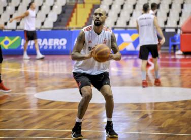 Treino do basquete no Tijuca - 04/02/2019