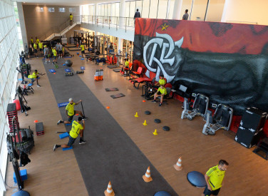 Treino CT Flamengo - 05-02-2019
