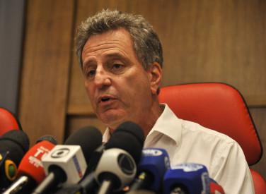 Coletiva presidente Rodolfo Landim - 24-02-2019