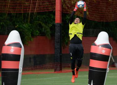 Treino CT Flamengo -26-02-2019