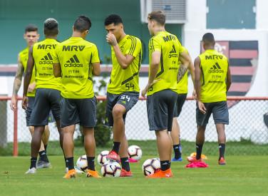 Treino Flamengo na Gávea - 01-03-2019