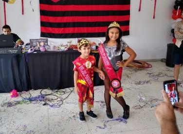 Bailinho de Carnaval Infantil Rubro-Negro - 04/03/201